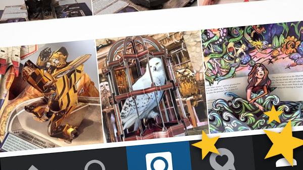 best pop-up book instagram