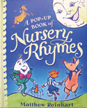 nursery rhymes pop up book matthew reinhart