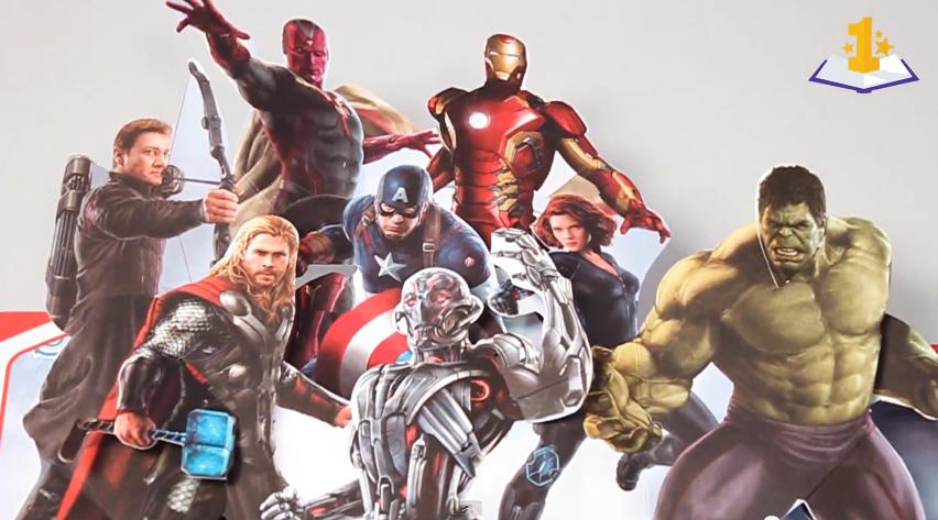 marvel avengers pop up book matthew reinhart