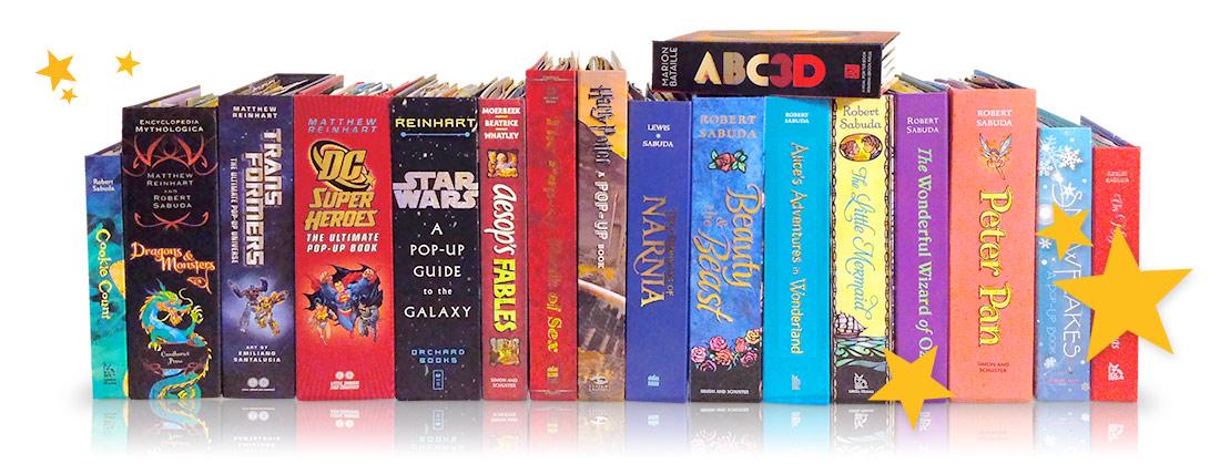 Best Pop-up books banner-collectie