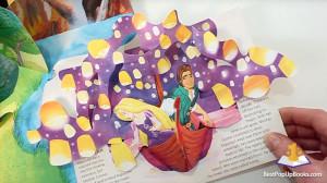 disney princess pop-up book