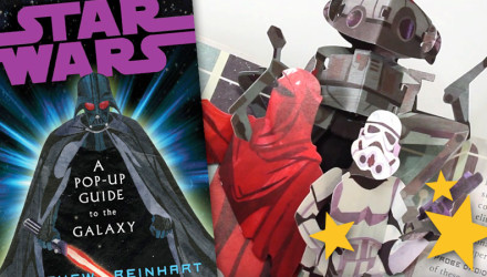 Star Wars pop-up book