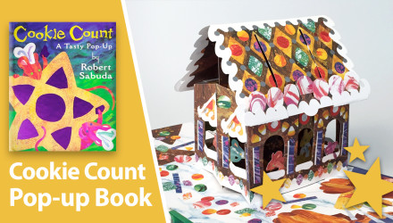 cookie count pop-up book Robert Sabuda