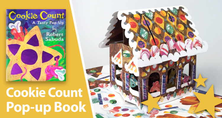 cookie count pop-up book Robert Sabuda
