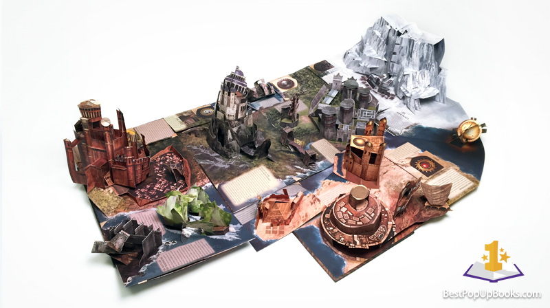 Game of thrones pop up book by matthew reinhart best pop up books game of thrones pop up book gumiabroncs Image collections