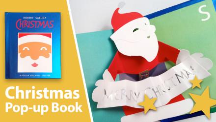 Christmas pop-up book Robert Sabuda