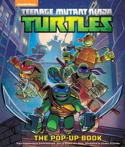 ninja turtles pop-up book