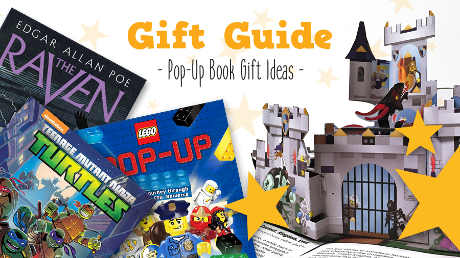 pop-up book gift ideas