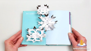 Winter in White pop-up Christmas book