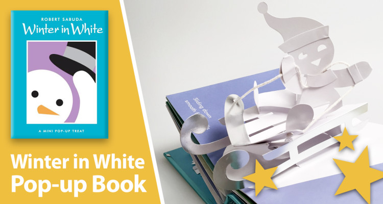 Winter in WHite pop-up book