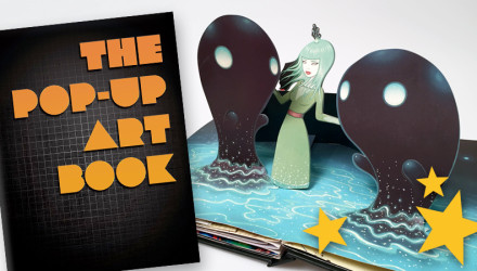 pop-up art book