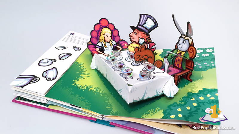 4916502e07ccf0 Alice in Wonderland Pop-Up Book by Robert Sabuda - Best Pop-up Books