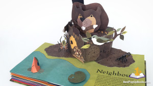 welcome neighborwood pop-up book