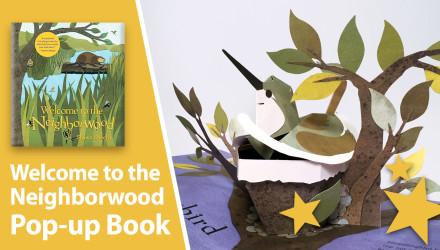 welcome neighborwood pop-up book