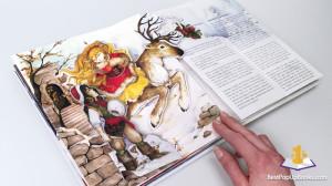 The Snow Queen pop up book