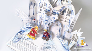 The Snow Queen pop up book