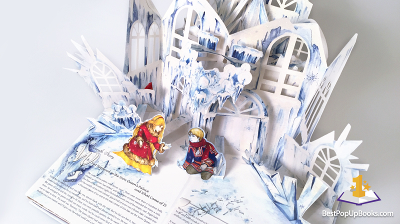 "Картинки по запросу ""The Snow Queen: A Pop-Up Tale in Seven Stories"""""