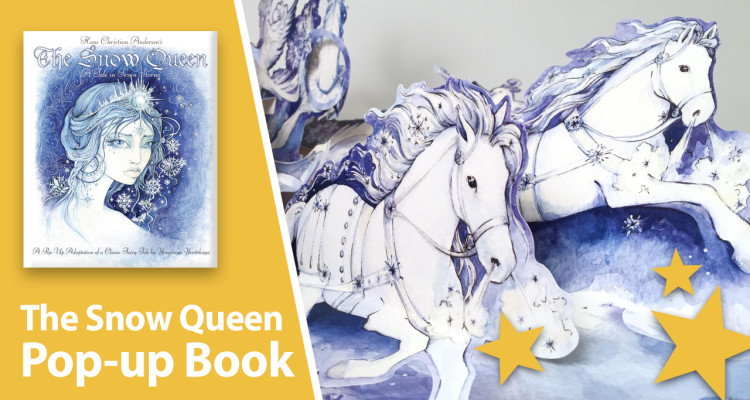 snow queen pop-up book