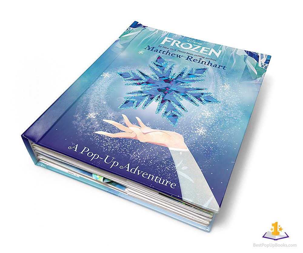 Frozen Pop-Up Book Cover Artwork - Best Pop-up Books