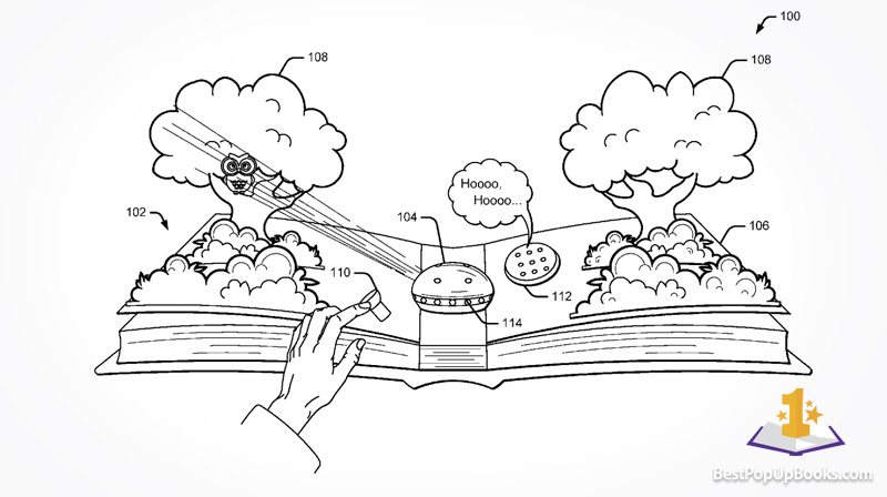 Google-Interactive-pop-up-book-patent-1