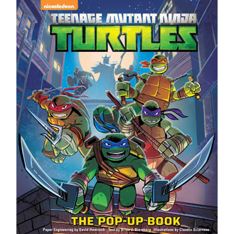 ninja turtles pop-up book