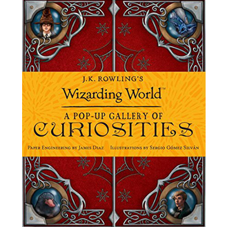 JK Rowling pop-up gallery of curiosoties