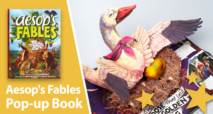 aesop fables pop-up book