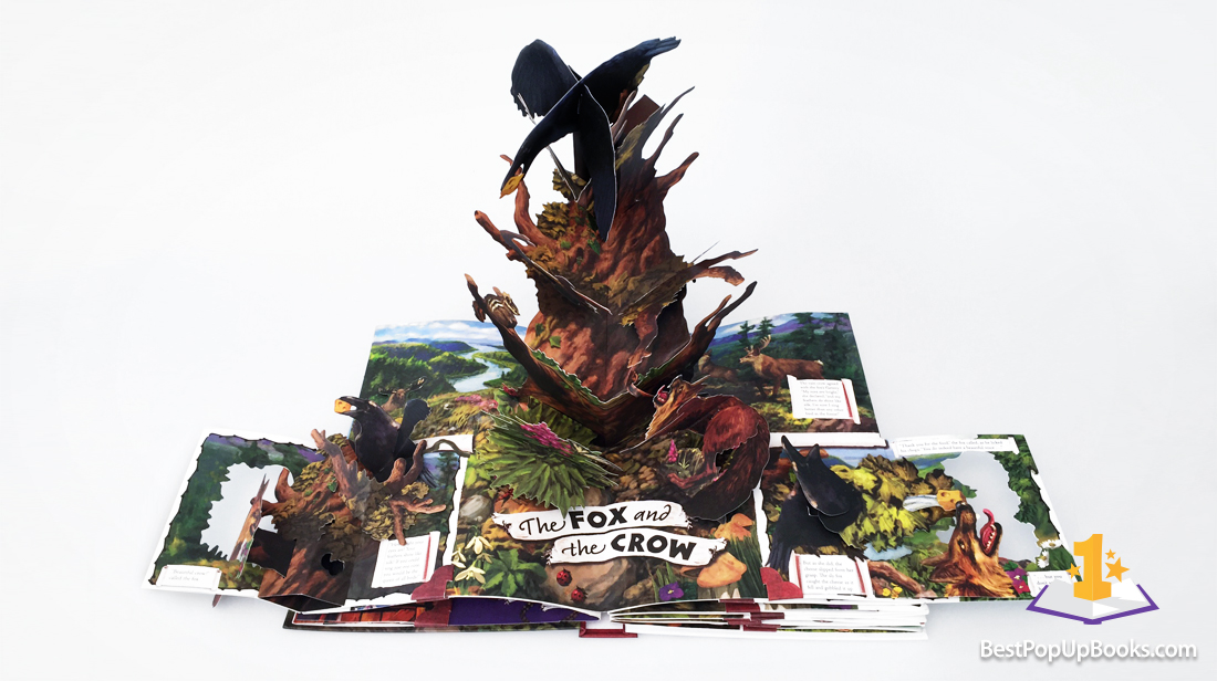 aesop fables pop-up book