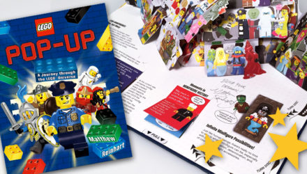 lego pop-up book matthew reinhart