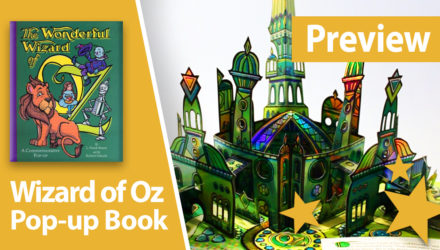 wizard of oz pop-up book robert sabuda