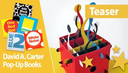David A. Carter pop-up book