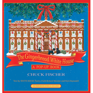 Gingerbread White House pop-up book