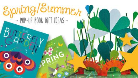 summer pop-up book