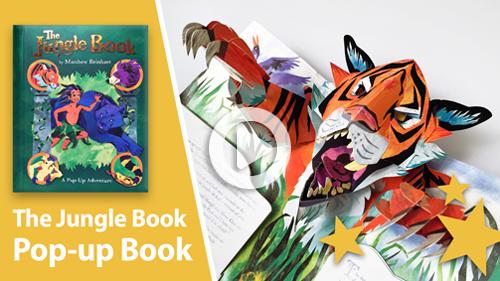 Jungle Book Pop-Up Book