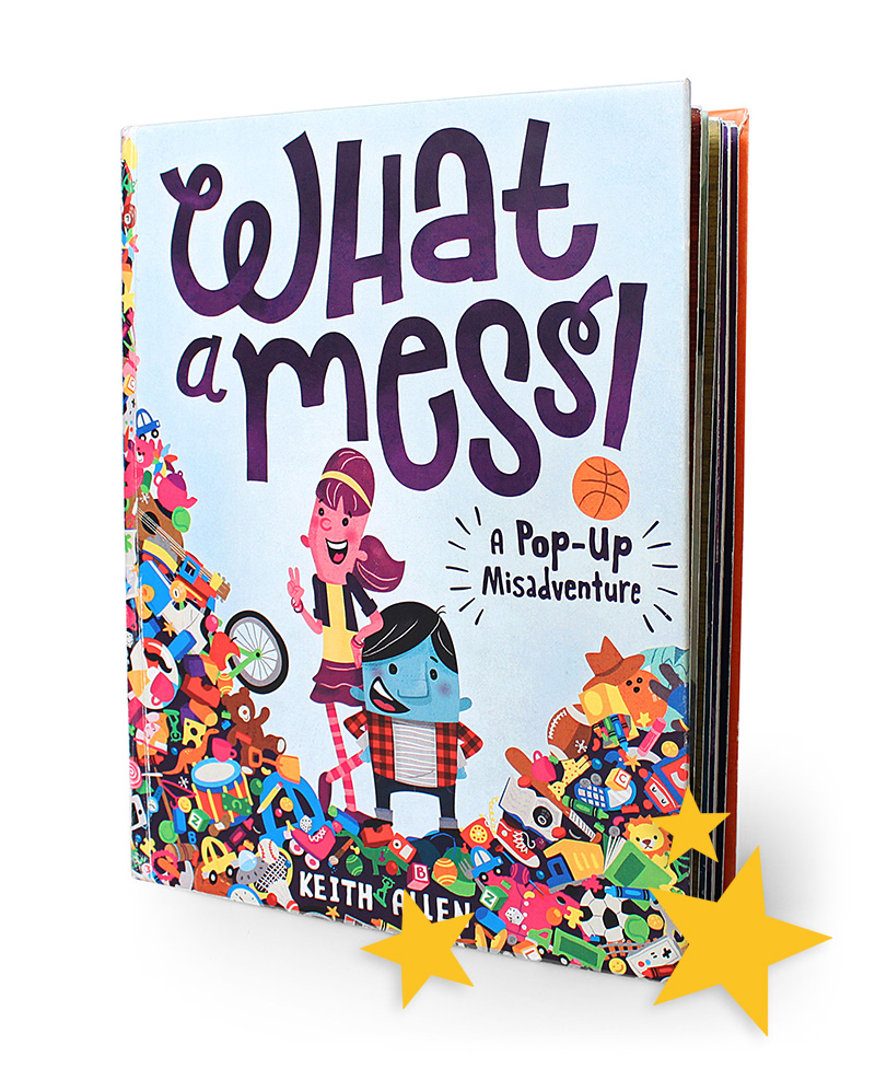 What A Mess! pop-up book