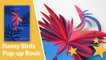 Funny Birds pop-up book Philippe Ug