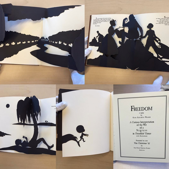 kara walker freedom pop-up book