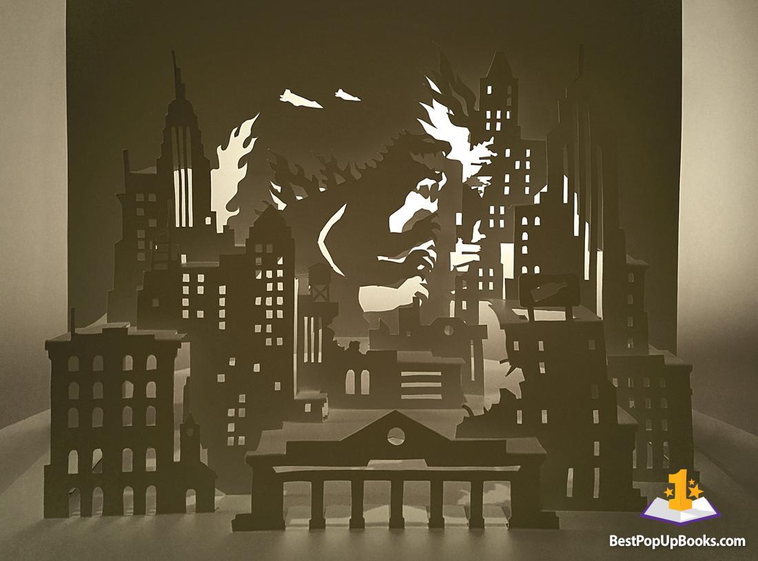 horrorgami - amazing diy kirigami horror pop-ups