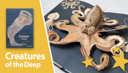 creatures of the deep pop-up book
