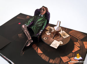 The Raven pop-up book