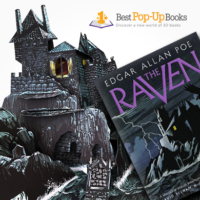 Raven Pop-Up Book
