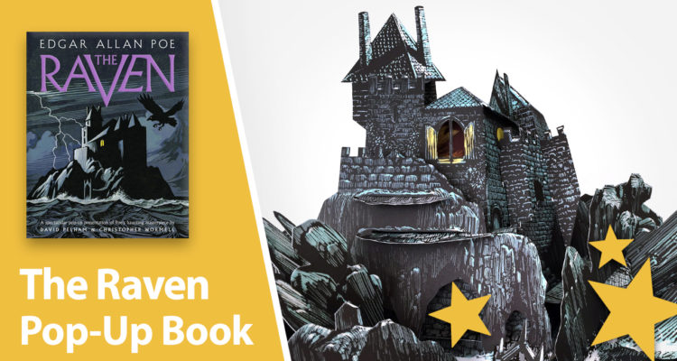 The Raven pop up book