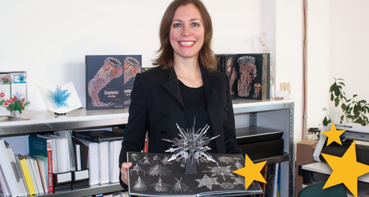 maike biedersteadt creatures of the deep pop-up book interview