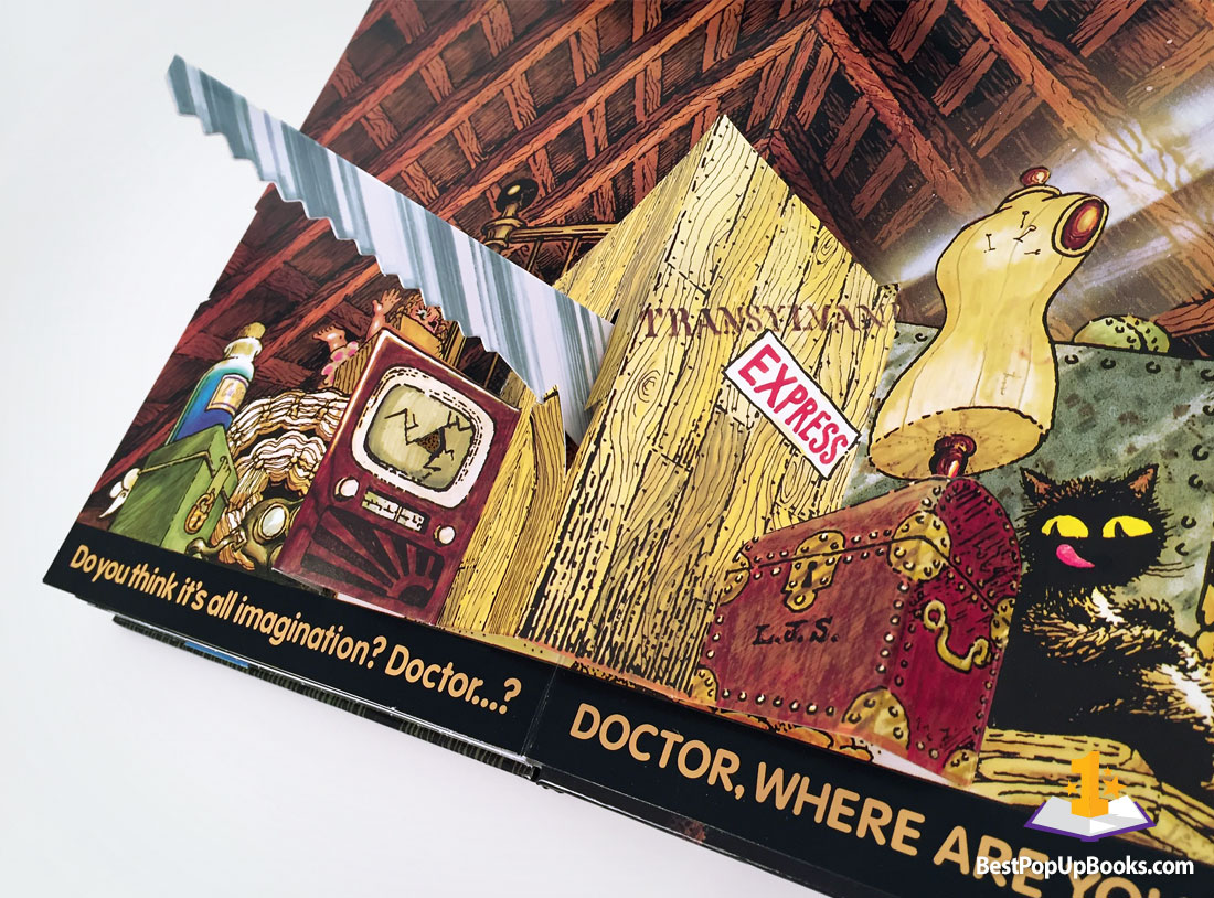 haunted-house-pop-up-book-2 - Best Pop-up Books