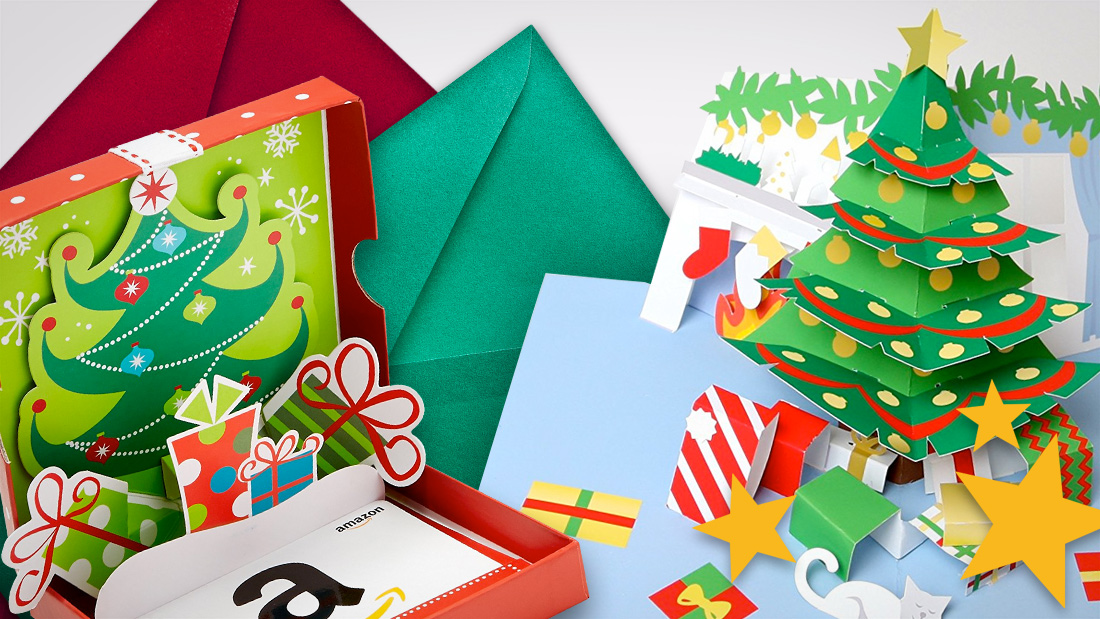 christmas pop up cards header