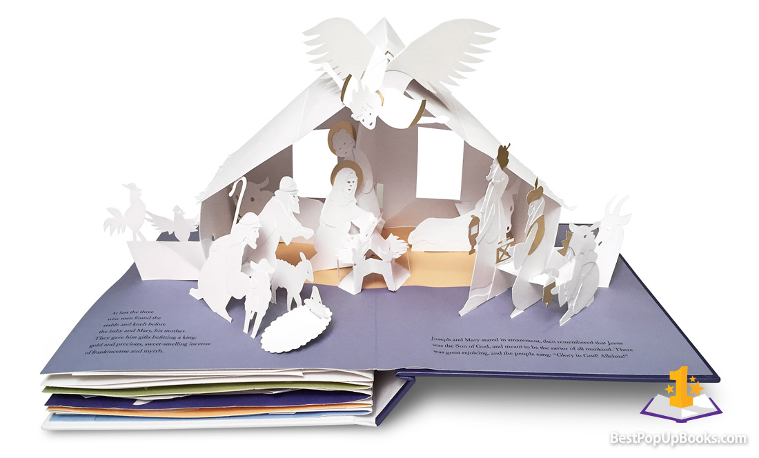 The Christmas Story pop-up book Robert Sabuda