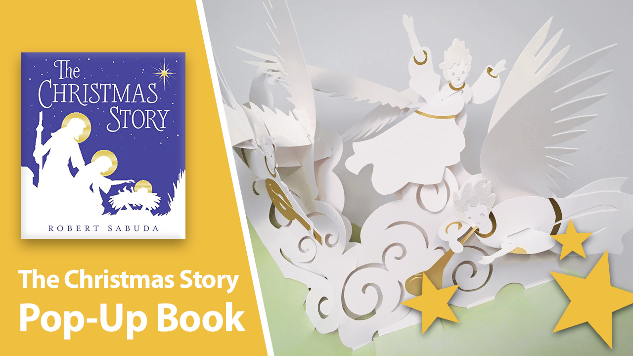 The Christmas Story Pop-Up Book by Robert Sabuda