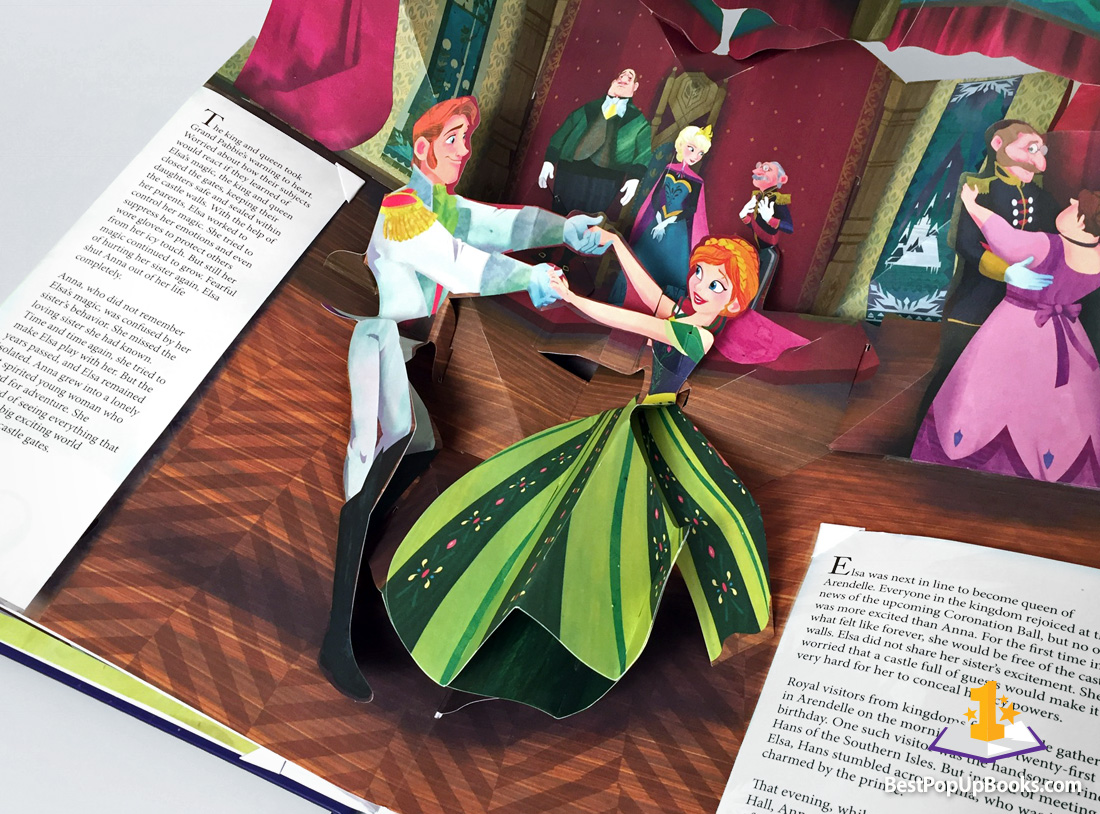 Frozen: A Pop-Up Adventure - Best Pop-up Books