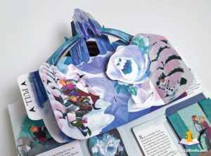frozen pop-up book