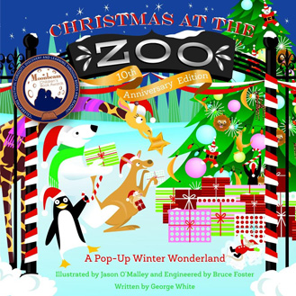 Christmas at the Zoo pop-up book
